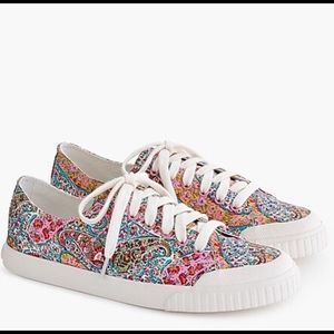 Women's Tretorn® Marley canvas sneakers in Liberty